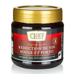 Reductie de Vin Rosu si Porto, pentru cca. 12 litri, 450 g - CHEF Premium