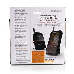 Termometru pentru BBQ si Carne, Wireless, XR-40 (Funk) - Maverick
