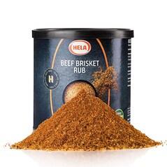 Beef Brisket BBQ Rub, Picant, 450g - Hela