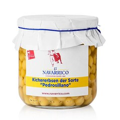 """Boabe Mici de Naut """"Pedrosillano"""", Conserva, 325g - El Navarrico"""