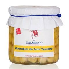 """Boabe de Naut """"Castellano"""", Conserva, 325g - El Navarrico"""