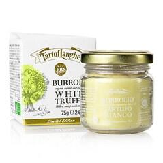 Burrolio, Grasime Tartinabila, cu Trufe Albe (Tuber Magnatum Pico) BIO, 75g - TartufLanghe, Italia