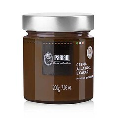 Crema de Alune de Padure de Piemonte IGP cu Cacao, 200g - Pariani