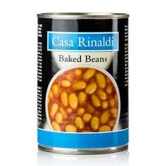 Fasole Boabe in Sos Tomat, Conserva, 420g - Casa Rinaldi