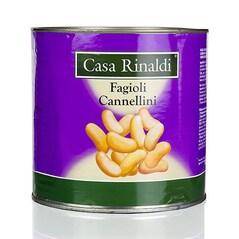 Fasole Cannellini, Conserva, 2,5Kg - Casa Rinaldi