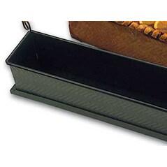 Forma Striata pentru Terine, Metal Anti-Aderent, L 30cm x l 7cm x h 8,5cm - Exopan