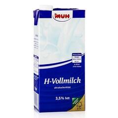 Lapte Integral, UHT, 3,5% Grasime, 1litru - Muh
