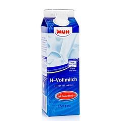 Lapte fara Lactoza, UHT, 3,5% Grasime, 1litru - Muh