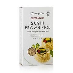 Orez Brun pentru Sushi, BIO, 500g - Clearspring