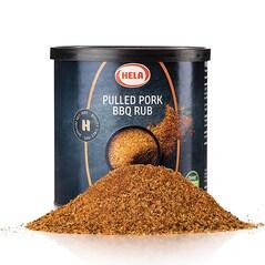 Pulled Pork BBQ Rub, Picant, 400g - Hela