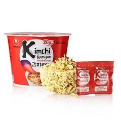 Supa Instant Kimchi Ramyun, Picanta, 112g - Nongshim