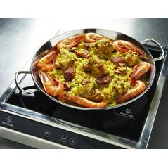 Tigaie din inox pentru paella (Ø 320 mm) - Guison