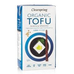 Tofu Japonez Moale, Silken & Smooth, BIO, 300g - Clearspring