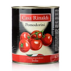 Tomate (Rosii) Cherry Intregi, Conserva, 800g - Casa Rinaldi