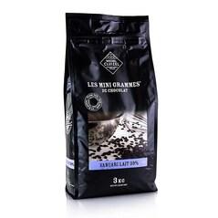 Ciocolata Couverture cu Lapte, Vanuari, 39% Cacao, pastile, 3Kg - Michel Cluizel, Franta