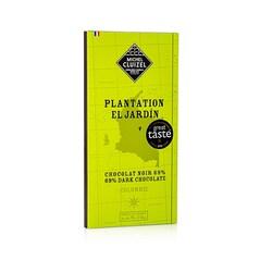 Ciocolata Neagra Plantation El Jardin, 69% Cacao, tableta, 70g - Michel Cluizel