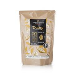 Ciocolata Couverture Blonda, 35% Cacao, Dulcey, pastile, 250g - VALRHONA