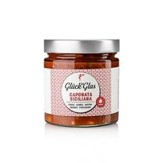Caponata Siciliana, Tocana de Legume, Vegan, 360g - Glück im Glas
