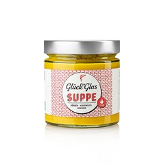 Supa-Crema de Legume cu Morcov, Cocos si Mirodenii, Vegan, 360ml - Glück im Glas