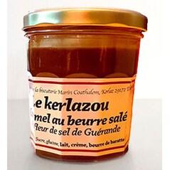 Caramel cu Unt Sarat, cu Fleur de Sel de Guerande (Caramel au Beurre Salé), 325g - Le Kerlazou
