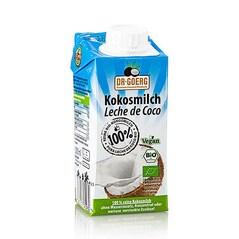 Lapte de Cocos 100%, Pemium, BIO, 200ml - Dr. Goerg