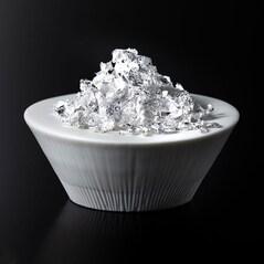 Petale de Argint Alimentar (10mm), 0,5g - Hakuichi, Japonia