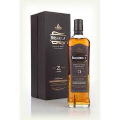 Whiskey Single Malt 21 Year Old, 40% vol., 700ml - Bushmills, Irlanda