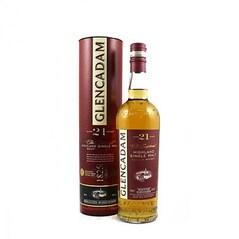 Whisky Single Malt 21 Year Old, 46% vol., 700ml - Glencadam, Scotia