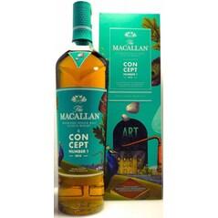 Whisky Single Malt Concept Number 1, 40% vol., 700ml - Macallan, Scotia