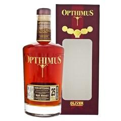 Rom 25 Anos Barricas de Malt Whisky, 43% vol., 700ml - Opthimus, Republica Dominicana