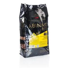 "Ciocolata Couverture Neagra Abinao ""Grand Cru"", callets, 85% Cacao din Africa, 3 Kg - VALRHONA"