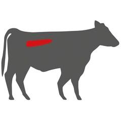 US Beef Tenderloin chain off PRIME (Muschi de Vita fara curelusa/Filet Mignon), Congelat, cca. 2,15Kg - Morgan Ranch
