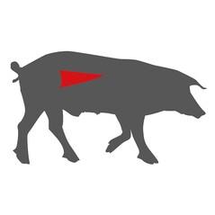 Muschi Filé de Porc LiVar, Congelat, cca. 650g
