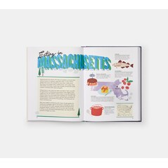 United States of America: An Atlas of Food Facts & Recipes from Every State! - Gabrielle Langholtz