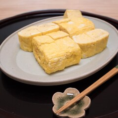 Tigaie Profesionala pentru Omleta Japoneza, Tamagoyaki, Cupru, 21 x 21cm - Marusin Mark