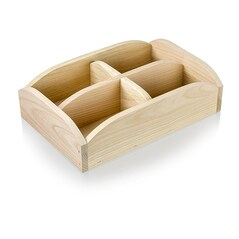 Cutie din Lemn pentru Paine, 30 x 20 x 8cm, pentru 4 paini mic sau 1 mare - Axtschlag
