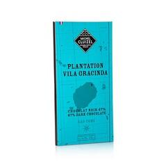 Ciocolata Neagra Plantation Vila Gracinda, 67% Cacao, tableta, 70g - Michel Cluizel