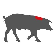 Steak din Ceafa de Porc LiVar, fara os, Congelat, cca. 300g