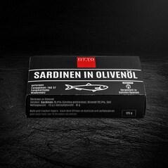 Sardele in Ulei de Masline, 125g - Otto Gourmet