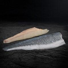 Filé de Biban (Lup) de Mare, cu Piele, Congelat, (2 x cca. 90 g), cca. 180g - Peixos de Palamos