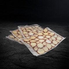 Carpaccio de Caracatita, Congelat, 4 x 50g, 200g - Peixos de Palamos