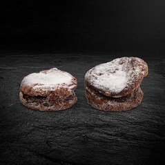 Prajituri cu Ciocolata in stil Frantuzesc, vegetariene, BIO, 2 x 55g, Congelate, 110g - Green Rosin