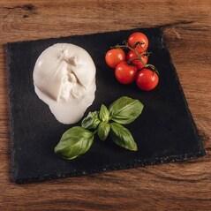 Burrata di Bufala, Mozzarella de Bivolita cu Miez de Smantana, 125g - Büffel Bill