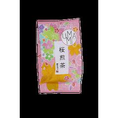 Sakura Sencha - Ceai Vedrde cu Flori de Cires, 40g -Chasandai, Japonia
