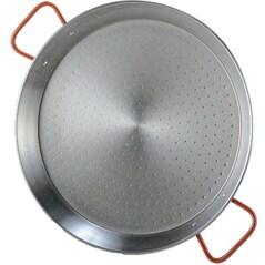 Tigaie pentru paella din otel slefuit (Ø 320 mm) - Garcima