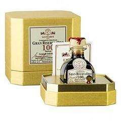 Otet Balsamic Gran Riserva Oro, Maturat 100 ani in Baric, Cutie Cadou, 68 g - Leonardi, Italia