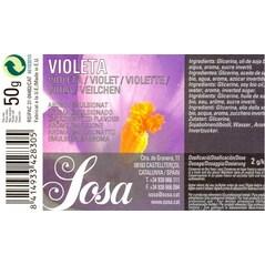 Ulei Esential de Violete, 50 ml – SOSA Eticheta