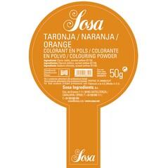 Colorant Alimentar Portocaliu, Pudra, 50 g - SOSA