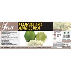 Sare cu Aroma de Lime, 0,5 Kg - SOSA eticheta