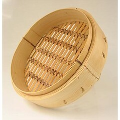 Cos din Bambus pentru Gatit la Abur, ø 35 cm exterior, ø 33 cm interior, 14.5 inch